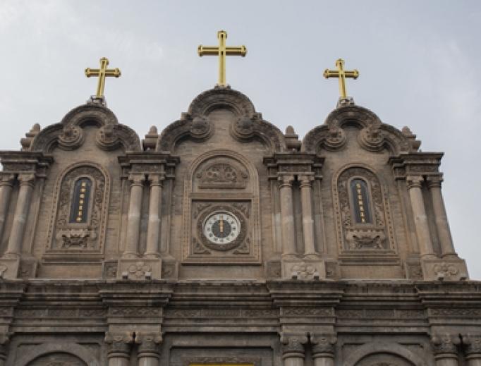 Catholic church in China.