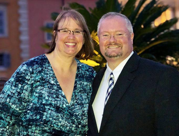Ken Hallenius and his wife Julie