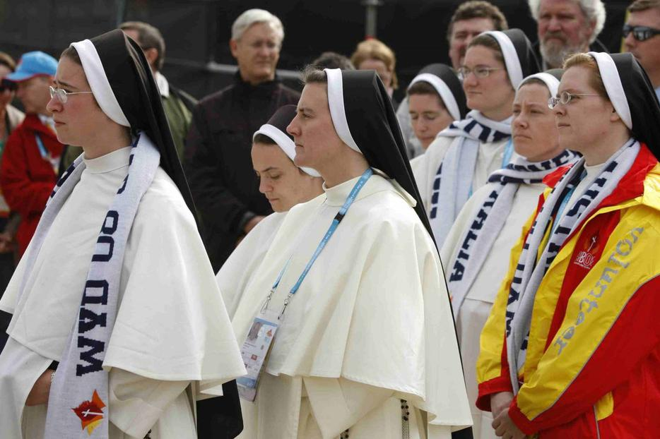 Nashville Dominican sisters attend last year's closing Mass at World Youth Day in Sydney, Australia.