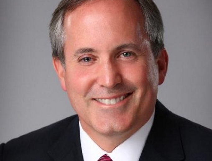 Official photo of Attorney General Ken Paxton.