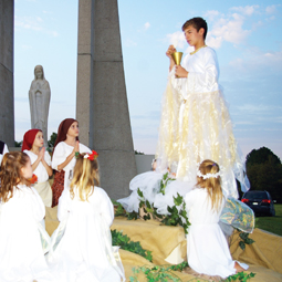 Theatrical production of Fatima.