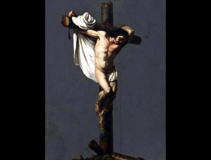 "Michelangelo Cerquozzi (1602-1660), ""The Good Thief"""