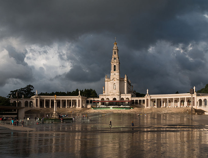 The Shrine of Our Lady of the Rosary of Fátima