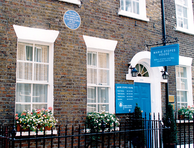 Marie Stopes House in Great Britain