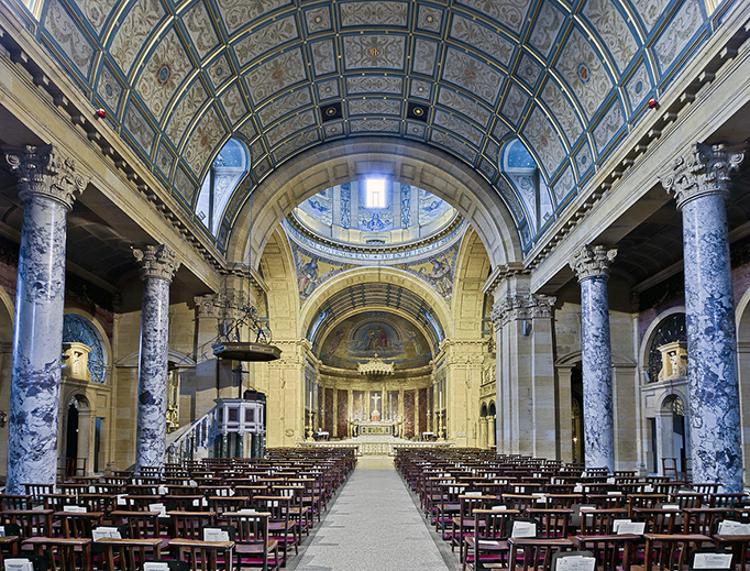 Oratory Church of the Immaculate Conception, Edgbaston, Birmingham, England