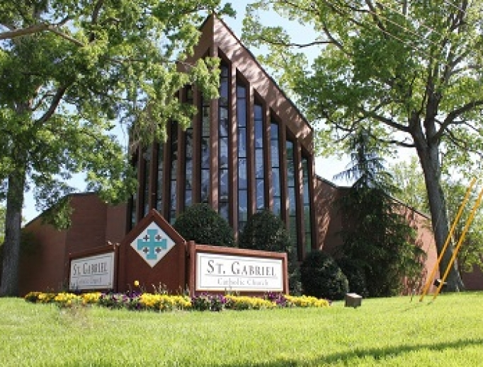 St. Gabriel Catholic Church in Charlotte.