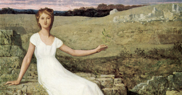 Image: Pierre Puvin de Chavannes (1824-1898), L'Espérance