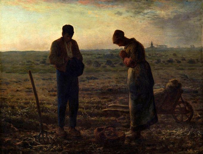 Jean-Francois Millet, The Angelus