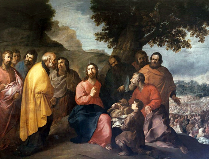 "Francisco Herrera the Elder (1576-1656), ""Multiplication of the Loaves and Fishes"""