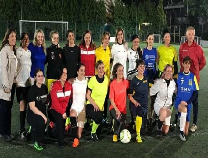 Vatican City women's football team.