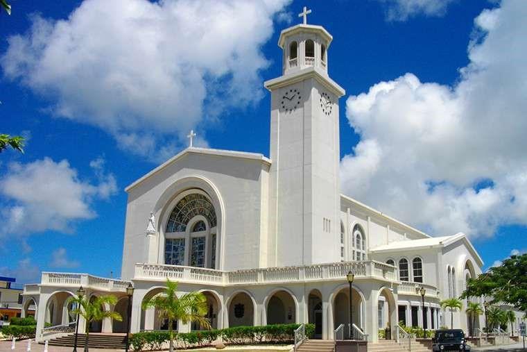 Dulce Nombre de Maria Cathedral Basilica in Hagatna, Guam