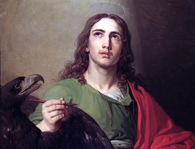 "Vladimir Borovikovsky (1757–1825), ""St. John the Evangelist"", ca. 1804-1809"