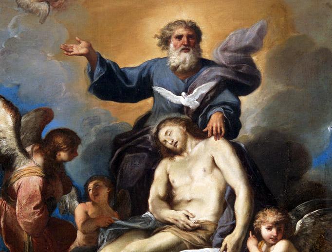 """Tommaso Donini, """"The Holy Trinity,"""" c. 1625"""