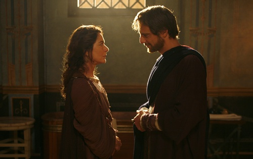 """Scene from """"Restless Heart: The Confessions of Augustine""""."""