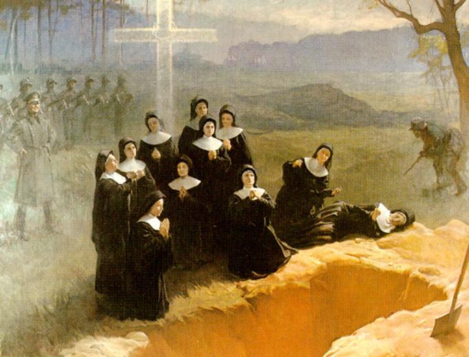 "Adam Styka, ""The Eleven Nuns of Nowogródek,"" 1948"
