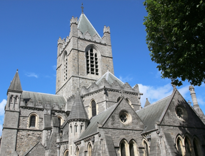 Christ Church Cathedral (Holy Trinity) in Dublin, Ireland, is on pilgrimage route for the family meeting.