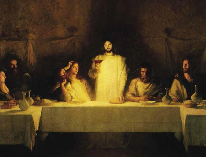 PASCAL DAGNAN-BOUVERET, THE LAST SUPPER, BEFORE 1929