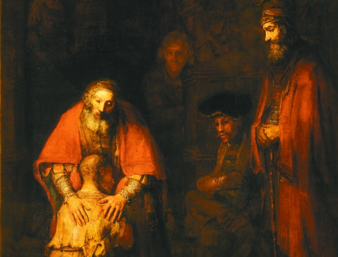 Rembrandt, The Return of the Prodigal Son, 1668