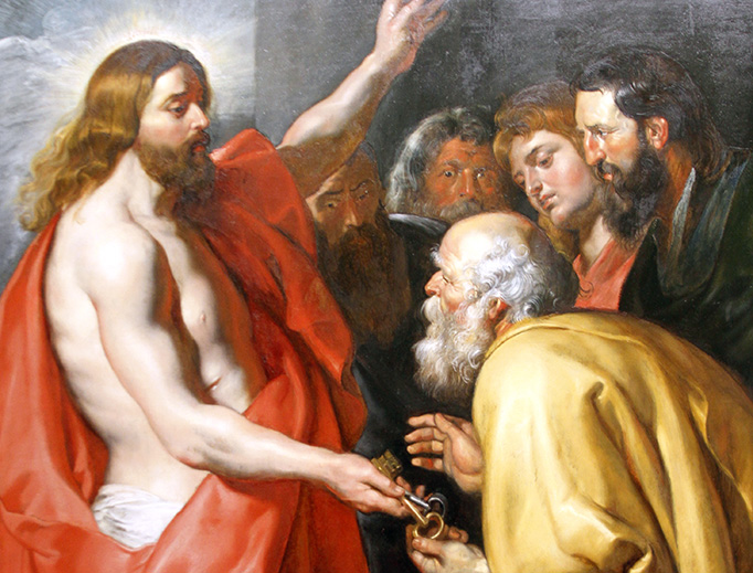 "Peter Paul Rubens (1577-1640), ""Christ's Commission to St. Peter"""
