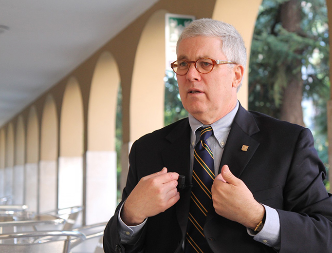 Alan Sears of Alliance Defending Freedom speaks with CNA in Rome on Nov. 20, 2014.