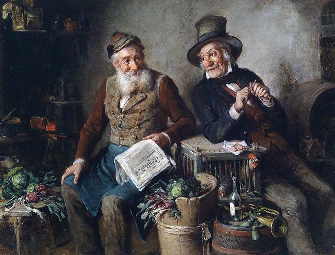 "Hermann Kern, ""Gute Freunde"" (1904)"