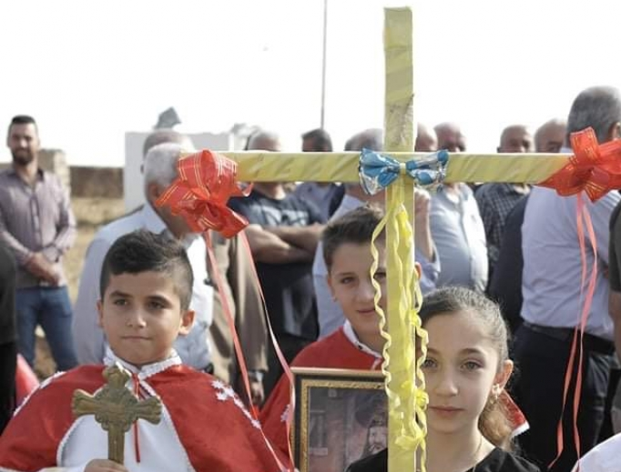 The attached pictures are of a procession of prayer and thanksgiving from the town of Baqofa to Batnaya to celebrate the reopening of the road there (mentioned in the story). The procession culminated in a special Mass and celebration at the ancient church of Mar Kyriakos in Batnaya celebrated by representatives of the Diocese of Al Qosh and the Chaldean Patriarchate of Babylon in Baghdad.