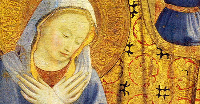 """Fra Angelico (c. 1395–1455), """"Madonna of Humility"""""""