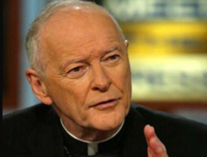 Former disgraced cardinal Theodore McCarrick.
