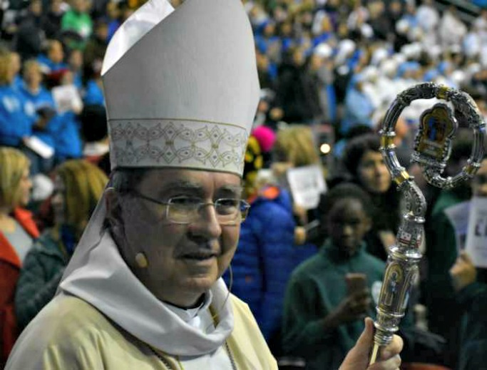 Archbishop Christophe Pierre at the Mass for Life on Jan. 18, 2019.