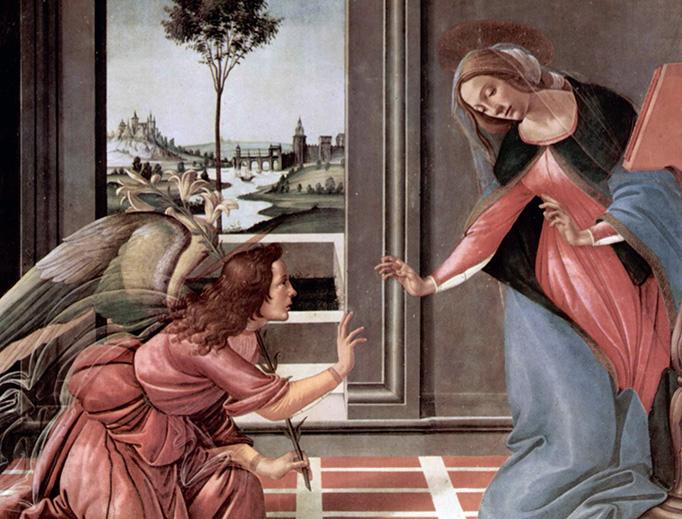 Sandro Botticelli, 'The Annunciation', 1490