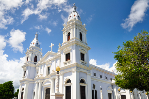 La Guadalupe cathedral in Ponce, Puerto Rico.