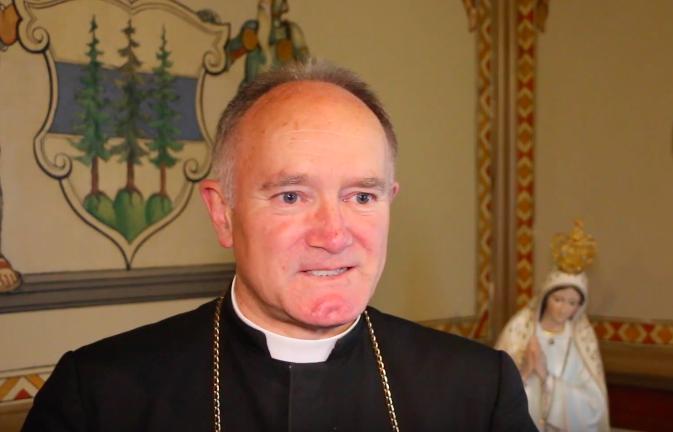 Swiss Bishop Bernard Fellay, superior general of the SSPX