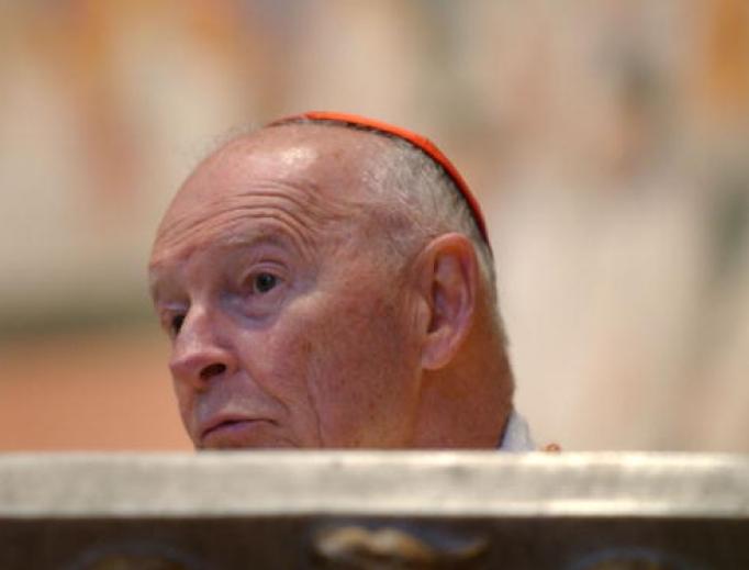 Then-Cardinal Theodore McCarrick