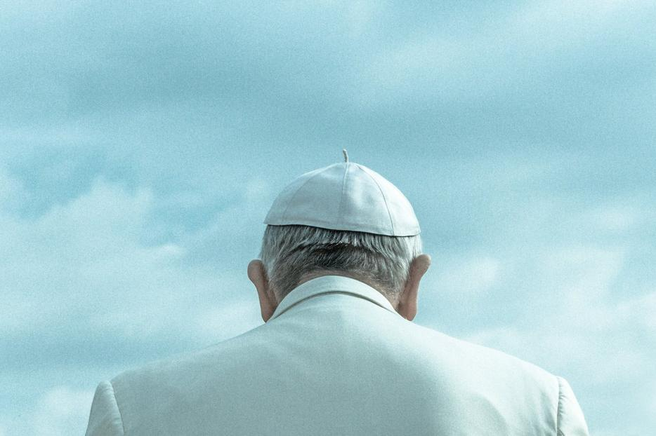 The Back of the Pope