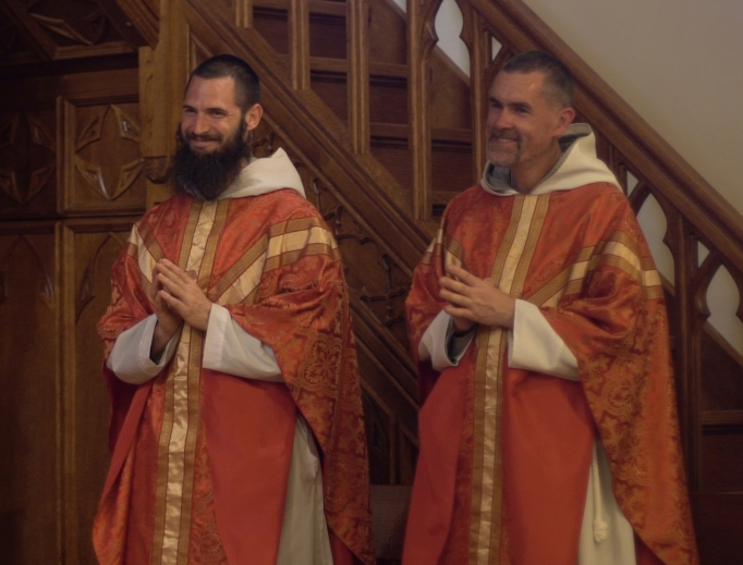 For Father Malachy Napier, from Augusta, Georgia, and Father Oisin Martin from Dublin, the day of ordination was filled with the blessings of God.
