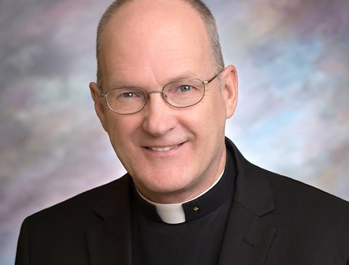 Bishop-elect Michel Mulloy.
