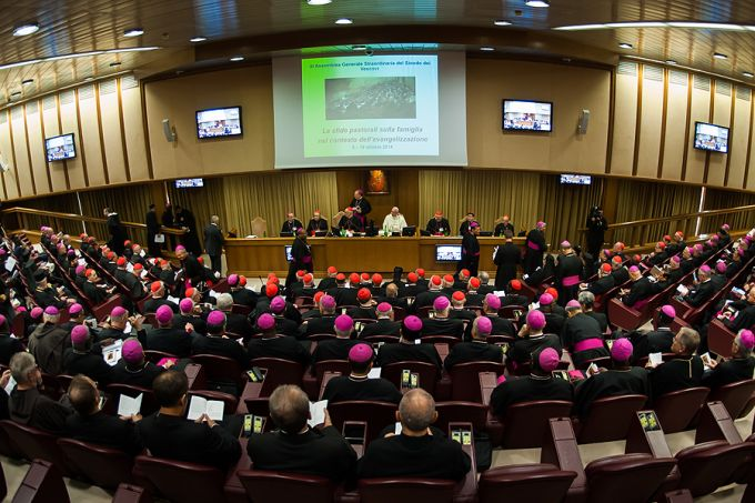 Opening session of the Synod of Bishops, Oct. 6, 2014.