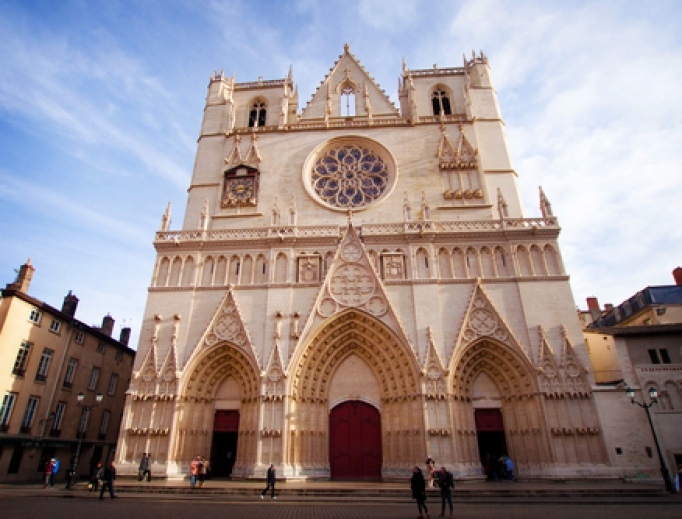 Cathedral of Lyon.