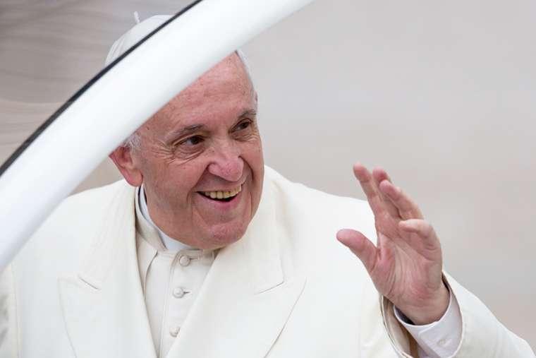 Pope Francis at Jan. 31 general audience.