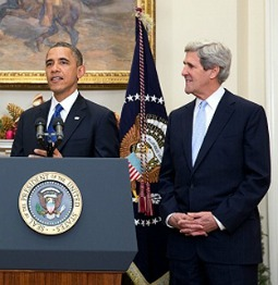 President Obama nominates Sen. John Kerry as secretary of state.