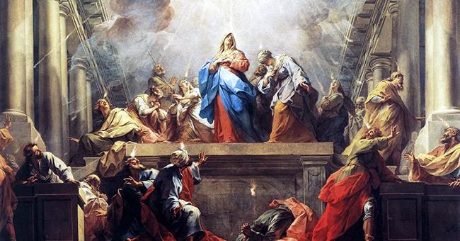 """Jean II Restout (1692-1768), """"Pentecost"""""""