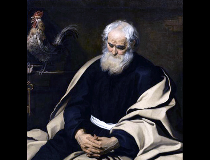 """Gerard Seghers (1591–1651), """"The Repentance of St Peter"""""""