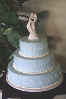 Wedding cake designed by Masterpiece Cakeshop in Lakewood, Colo.