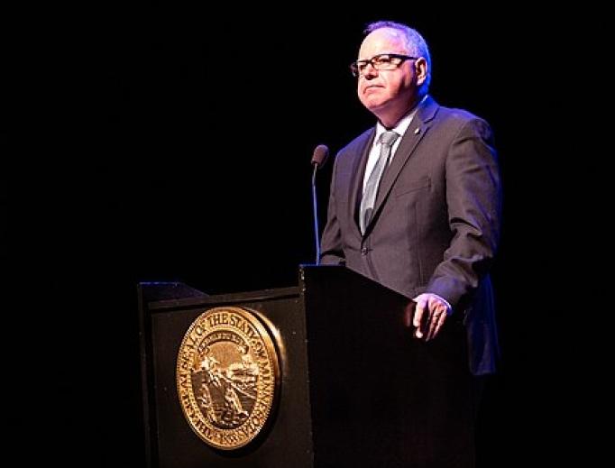 Governor Tim Walz of Minnesota.