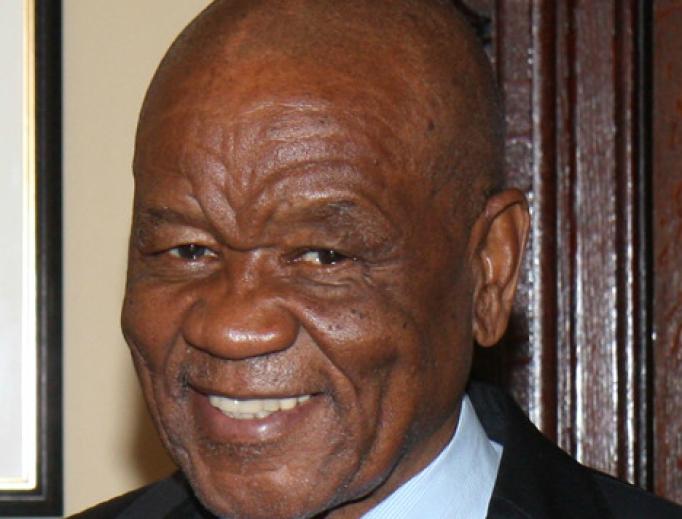 Prime Minister of Lesotho Thomas Thabane, 2018.