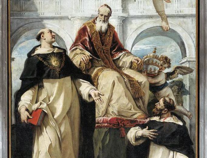 "Sebastiano Ricci (1659-1734), ""St. Pius, St. Thomas Aquinas and St. Peter Martyr"""