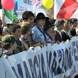 Rome's May 13th March for Life.