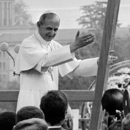 Pope Paul VI Visits Geneva to address ILO Conference on 50th anniversary on June 10, 1969.