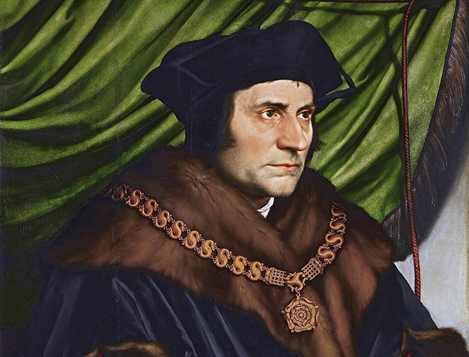 """Hans Holbein the Younger (1497/1498–1543), """"Sir Thomas More"""""""