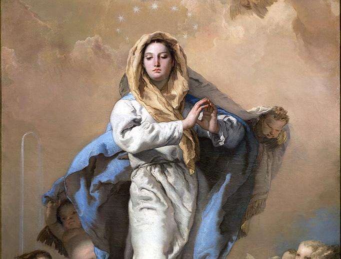 """Giovanni Battista Tiepolo, """"The Immaculate Conception"""", 1767"""